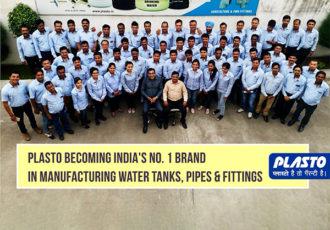 India's no 1 water tank manufacturing brand Plasto