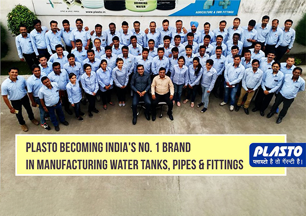 India's no 1 water tank manufacturing brand Plasto