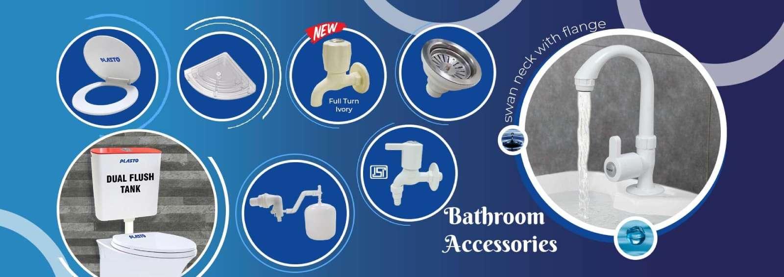 Bathroom Accessories Banner