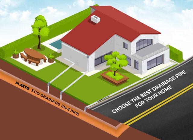 plasto eco drainage pipe